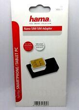 Hama Nano SIM - SIM Adapter • Smartphone Tablet PC •