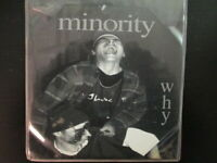 Minority - Why - Original release on Trout Lake- RARE! - CD