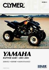 Yamaha Raptor 660R 01-05 Workshop Manual