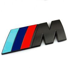 3D BLACK badge M Power BMW Rear Emblem Car Decal Logo Sticker fits M3 M5 M4 M6