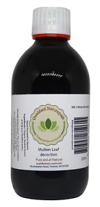 Mullein Leaf Decoction 325ml in a glass UV resistant bottle
