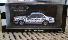 Minichamps 1:43 BMW 635 CSi Stuck Quester #8 Genuine BMW Parts RARE