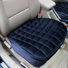 Black All Season Car Seat Protector Cover Pad Cushion Breathable Suede Cotton 1x