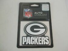 Green Bay Packers Logo 3d Chrome Auto Emblem Truck or Car NFL