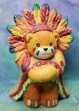 Enesco Lucy and Me Lucy Rigg Bear Native American Indian Chief