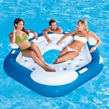 Isola galleggiante gioco mare piscina 3 persone 199 x 176 cm Bestway 43111