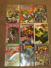Dc Comics Lot of 18: Superman, Joker, Villians - Nm Conditions. Take A L@K.