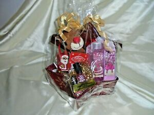 RUDOLPH RED NOISE REINDEER CHRISTMAS GIFT BASKET FOR A TEEN