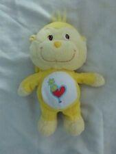 """10"""" Care Bears Cousins PLAYFUL HEART MONKEY Yellow Plush Doll"""