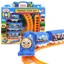 Cute Thomas the Tank Engine Electric Train Track Set Kids Baby Boy Girl Toy Gift