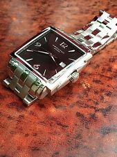 Hamilton Jazzmaster Square 2012 London Olympics Reference H894150 Near Mint