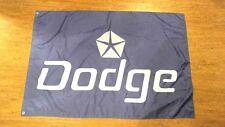 DODGE FLAG BANNER LOGO 3X5FT CHALLENGER CHARGER RAM DURANGO NITRO VIPER
