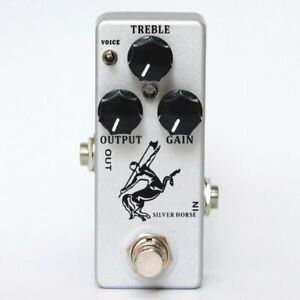 MOSKY Silver Horse Guitar Effect Pedal Overdrive Boost Guitar Pedal True Bypass