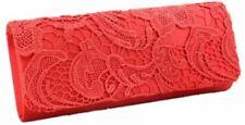 Borse da donna rossi floreali tasca per cellulari