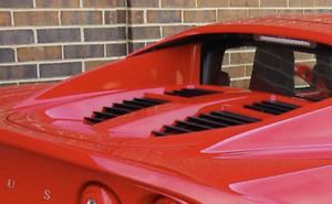 OEM Lotus Elise Trunk Hatch For 2000-2008 s2 lid red grills