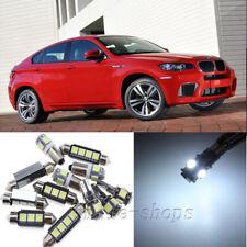 Error Free White 19pcs Interior LED Light Kit for 2008-2011 BMW E71 X6 M