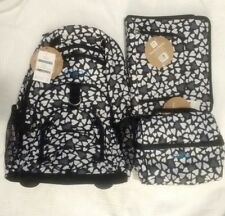 New Pottery Barn Teen girls ROLLING BACKPACK , LUNCH & BINDER, monogram OLIVIA