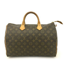 100% Authentic Louis Vuitton Monogram Speedy 35 Boston Travel Hand bag /60445