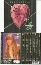 """Gary Schutt """"Sentimental"""" CD 1994 LONG ISLAND - Jeff Scott Soto"""