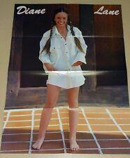 DIANE LANE Leggy Barefoot / CHERYL BRUCE LINDSAY FARRAH 1980 Japan POSTER lp1