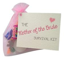 Mother of the Bride Survival Kit. Thank You gift&card. Novelty wedding gift