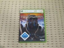 Too human para Xbox 360 xbox360 * embalaje original *