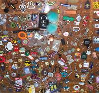 Huge Lot Of 170+ Collectible Keychains Key Rings FOB Vintage Modern Promo Ad
