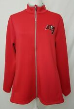 Tampa Bay Buccaneers Antigua Womens XL Red Full Zip Long Sleeve Jacket NWOT ad2239e24