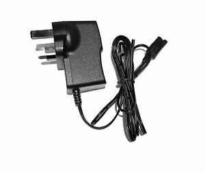 MAINS POWER CHARGER UK PLUG FOR WAHL SUPER GROOM 1872-0275 ANIMAL HAIR CLIPPER