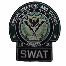 DC Comics Batman SWAT Embroidered Patch