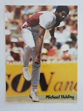 MICHAEL HOLDING SIGNED A4 11.5 X 8.5 INCHES MAGAZINE PICTURE WEST INDIES CRICKET
