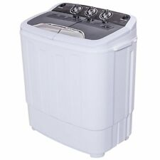 Charming Apartment Size Washer Spin Dryer Clothes RV Boat Machine Electric Portable  110v