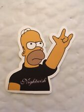 Homer rock and roll funny Sticker Laptop, Car Vinyl Decal New