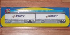 ATHEARN 28407 53' WABASH DURAPLATE TRAILERS (2) SWIFT