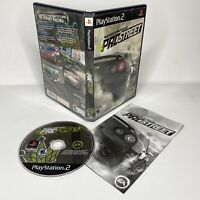 Need for Speed: ProStreet (Sony PlayStation 2 PS2, 2007) Complete TESTED WORKS