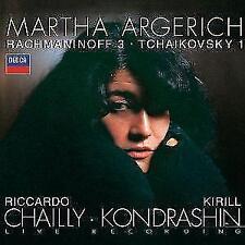 Klavierkonzerte 1,3 von Kondrashin,Argerich,RSOB,Sobr,Chailly (1995)
