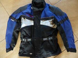 Warme Textil-Motorradjacke von Uvex für Herren, Gr. M/50 inkl. 2 Innenjacken