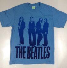 Los Beatles para hombres camiseta de imagen icónica Azul