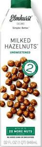 Elmhurst Milked Hazelnuts Unsweetened 32 oz ( Pack of 5 )