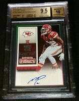 RC AUTO /49 MARCUS PETERS BGS 9.5 *SUB 10 *2015 Contenders Rookie Playoff Ticket