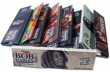 4 X Packs BOB MARLEY -  KING SIZE Cigarette Rolling Papers 32 sheets per pack