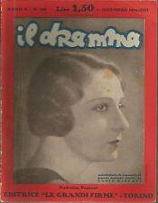 Il dramma 199 1934 Gherardo Gherardi - Questi ragazzi ! cover Andreina Pagnani