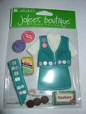 Jolee's Boutique GIRL SCOUT Scrapbooking Sticker Collage Scouts Her Scouting New