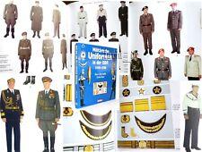 Book over cold war Uniforms East german Army NVA RDA ( Uniform Jacket hat .... )