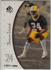 1999 SP AUTHENTIC ROOKIE CARD RC #144: ANTUAN EDWARDS #1327/1999 GREEN BAY