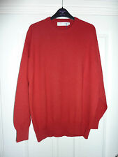 Gorgeous Red LOCHCARRON Rosso RN Sweater Size XL NWT RRP £81.95