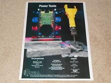 Krell KSA-250 Amplifier Ad, 1991, 1 pg, Specs, Rare Ad! Frame it!