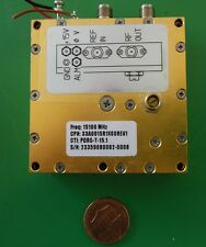 Herley CTI phase locked PDRO precision oscillator 15100 MHz, 15.1 GHz, tested