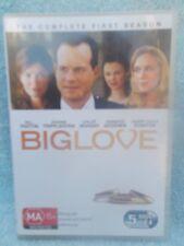 BIG LOVE COMPLETE FIRST SEASON BILL PAXTON 5 DISC BOXSET  DVD MA R4