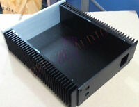 2107 Full Aluminum Power Amplifier Enclosure Earphone Amp Preamp Box Holder